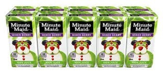 Minute Maid Mixed Berry 100% Juice Box 10 pk uploaded by Christie T.