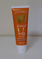 Aubrey Organics Natural Sun Sunscreen SPF 30+ uploaded by Jéssica S.