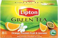 Lipton® Orange Passionfruit Jasmine Green Tea uploaded by Emmanuel G.