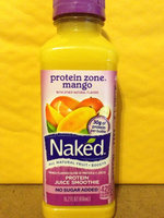 Naked Protein Zone All Natural Protein Juice Smoothie Mango uploaded by Jamie C.