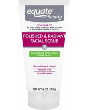 Equate Beauty Mandarin & Pink Lemon Polished & Radiant Facial Scrub, 6 oz uploaded by Emmanuel G.