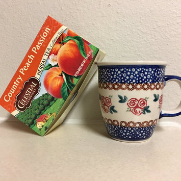 Celestial Seasonings Country Peach Passion Caffeine Free Herbal Tea - 20 CT uploaded by Mollie G.
