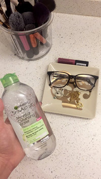 Garnier Skin Skinactive Micellar Cleansing Water All-In-1 Cleanser and Waterproof Makeup Remover uploaded by Melanie B.