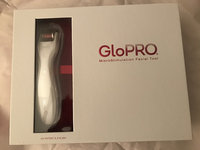 GloPRO® MicroStimulation Facial Tool & HydraGLO™ Serum uploaded by Erica D.