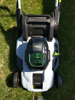 21 in. 56-Volt Lithium-Ion Cordless Self Propelled Lawn Mower uploaded by Chanon C.