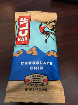 Photo of Clif Bar Chocolate Chip Energy Bar uploaded by Acacia V.