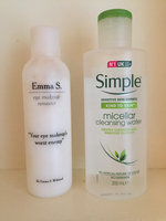 Simple® Micellar Water Cleanser uploaded by Tess R.
