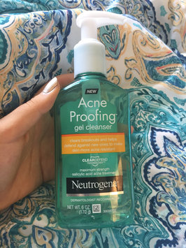 Photo of Neutrogena® New Acne Proofing™ Gel Cleanser uploaded by Camila V.