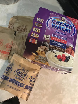 Photo of Cream of Wheat Instant Hot Cereal Variety Pack - 10 CT uploaded by Widienne B.