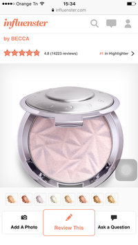 BECCA Shimmering Skin Perfector® Pressed Highlighter uploaded by Amina Z.