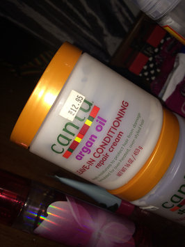 Cantu Argan Oil Leave In Conditioning Repair Cream uploaded by Johana R.