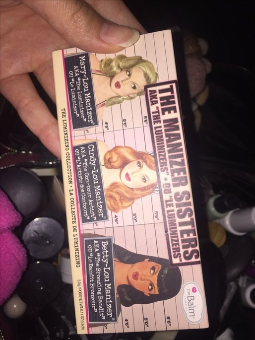 the Balm - the Manizer Sisters Luminizers Palette uploaded by Bree F.