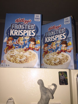 Kellogg's Frosted Rice Krispies Cereal uploaded by Brittney M.