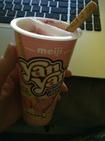 Meiji Yan Yan Strawberry Cream Dip Cookies, 2 oz (Pack of 10) uploaded by Brooke B.