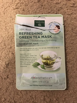 Photo of Earth Therapeutics Refreshing Green Tea Face Mask, Multicolor uploaded by Stacy S.