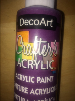 Deco Art 139576 Patio Paint 2 Ounces-Petunia Purple uploaded by Nikki A.