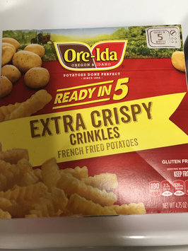 Photo of Ore-Ida Easy Fries Extra Crispy Golden Crinkles French Fried Potatoes uploaded by Nic S.