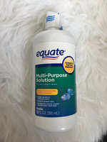 Equate - Multi-Purpose Contact Lenses Solution uploaded by Milene R.