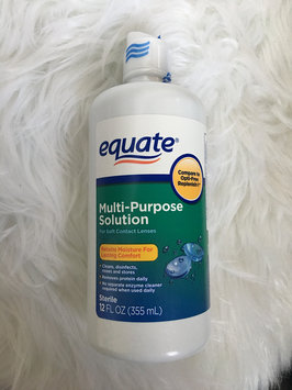 Photo of Equate - Multi-Purpose Contact Lenses Solution uploaded by Milene R.