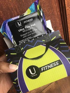 Photo of U by Kotex® Fitness* Ultra Thin Pads Regular uploaded by Kolena M.