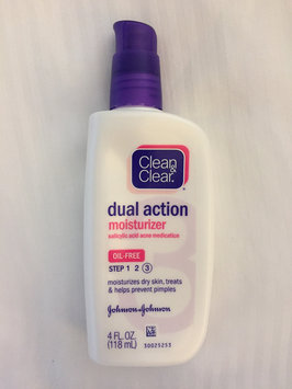 Photo of Clean & Clear® Essentials Dual Action Moisturizer uploaded by Ashley W.