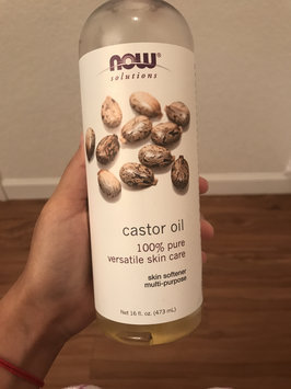 NOW Foods Solutions Castor Oil - 16 fl oz uploaded by Luisa U.