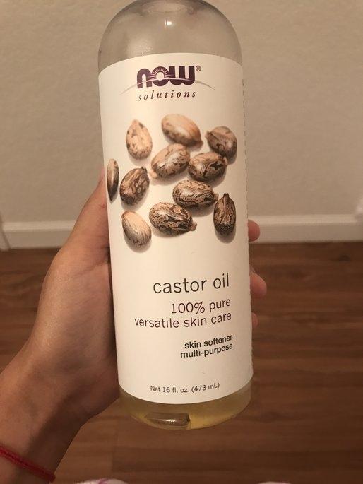 NOW Foods Solutions Castor Oil - 16 fl oz uploaded by Luisa U.