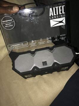 Photo of Altec Lansing XL Jacket Wireless Bluetooth Speaker - Black (IMW645) uploaded by Joseph R.
