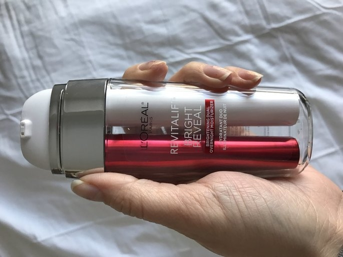 L'Oréal Paris Revitalift Bright Reveal Brightening Dual Overnight Moisturizer uploaded by Svitlana V.