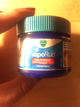 Photo of Vicks VapoRub Topical Ointment uploaded by Nikki A.
