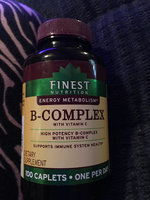 Finest Nutrition B-Complex Dietary Supplement Caplets uploaded by Jamie G.