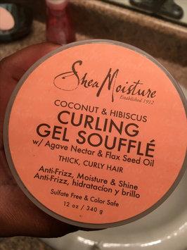 SheaMoisture Coconut & Hibiscus Curling Gel Soufflé uploaded by Trezure S.