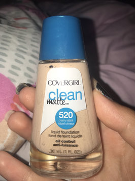 Photo of COVERGIRL Clean Matte Liquid Foundation uploaded by Fallon O.
