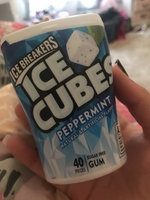 ICE BREAKERS ICE CUBES PEPPERMINT GUM uploaded by Fallon O.