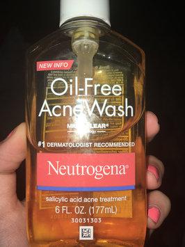 Neutrogena Oil-Free Acne Wash uploaded by Skylar L.