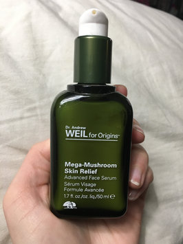 Photo of Origins Dr. Andrew Weil for Origins™ Mega-Mushroom Relief & Resilience Advanced Face Serum uploaded by Sarah D.