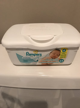 Photo of Pampers® Sensitive™ Wipes uploaded by Cristina M.