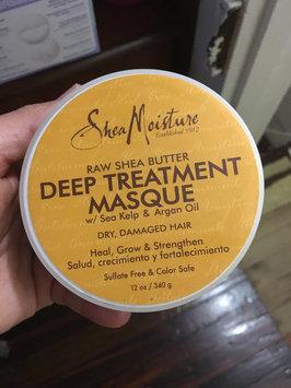 SheaMoisture Raw Shea Butter Deep Treatment Masque w/ Sea Kelp & Argan Oil uploaded by Fe M.