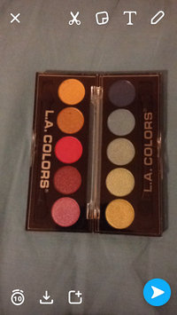 Photo of L.A. Colors 5 Color Metallic Eyeshadow uploaded by Emily W.