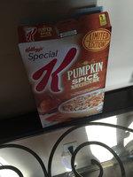 Special K® Kellogg's Pumpkin Spice Crunch Cereal uploaded by Jennifer P.