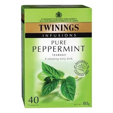 Twinings Pure Peppermint Tea uploaded by roselle m.