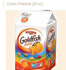 Photo of Goldfish® Colors Cheddar Baked Snack Crackers uploaded by Christie T.