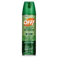OFF! Deep Woods Dry Aerosol Insect Repellent uploaded by Jéssica S.