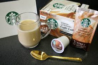 Starbucks Natural Fusions Caramel Ground Coffee uploaded by Jéssica S.