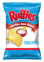 Ruffles® Brand Original Potato Chips uploaded by Luiza F.