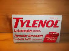 Tylenol® Regular Strength Liquid Gels 20 ct Box uploaded by Emmanuel G.