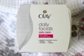 Photo of Olay Daily Facials Daily Clean 4-in-1 Water Activated Cleansing Cloths uploaded by Emmanuel G.