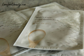 Photo of Innisfree It's Real Squeeze Mask - Rice 10pcs uploaded by Tess S.