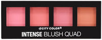 2pc City Color Intense Blush Quad Collection set of 2 palette #C0008A uploaded by Katherine E.