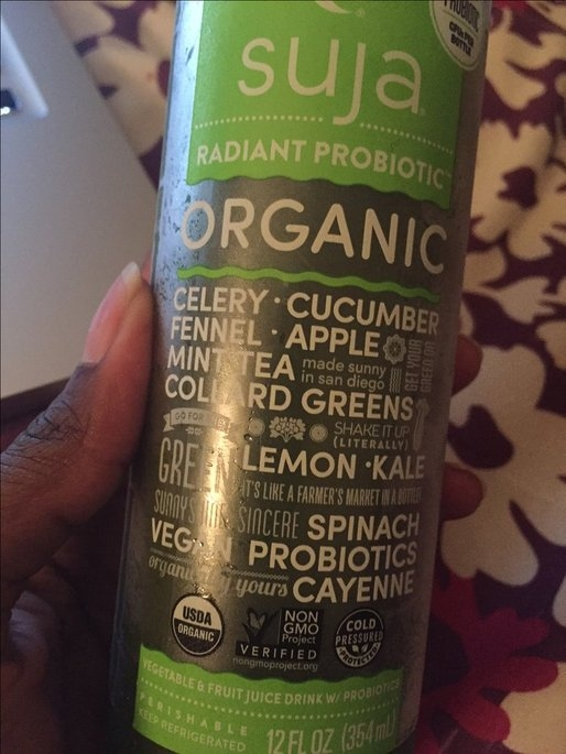 Suja® Organic Mighty Greens™ Fruit & Vegetable Juice uploaded by Andrea D.
